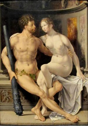 Jan Gossaert (c.1478 - 1532), Hercules and Deianira, 1517, oil on panel