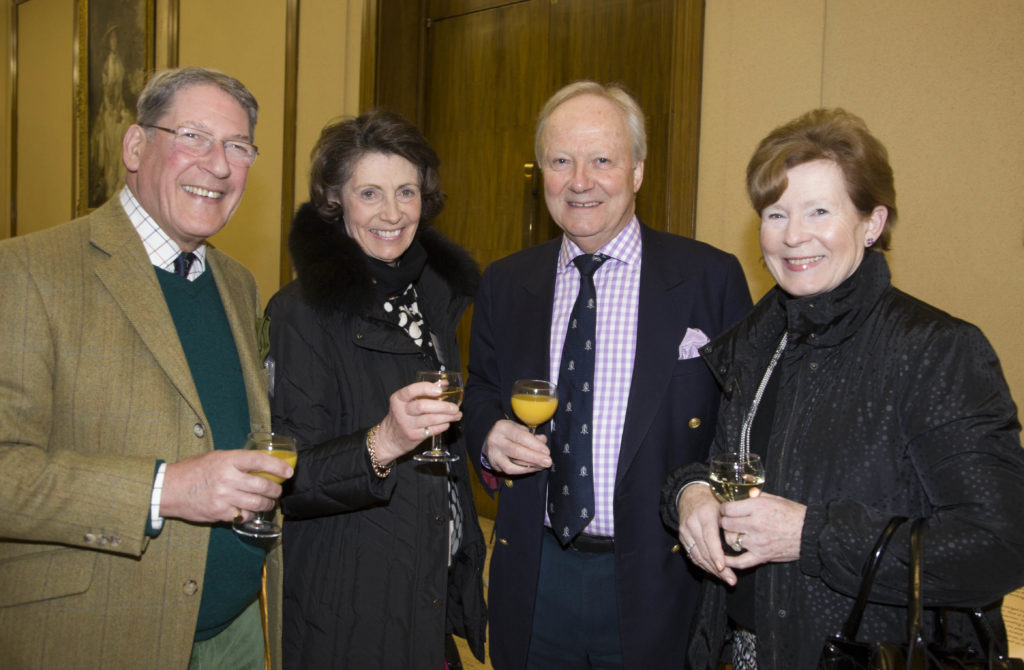 Michael Joseph, Francis Joseph, Peter Heath and Jennifer Heath