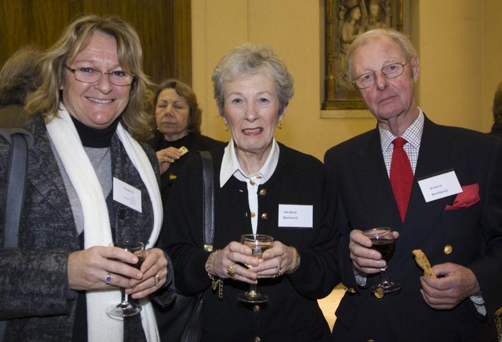 Claudia Hill, Jennifer McColl and William McColl