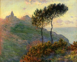 Clause Oscar Monet (1840 - 1926), The Church at Varengeville, 1882, oil on canvas