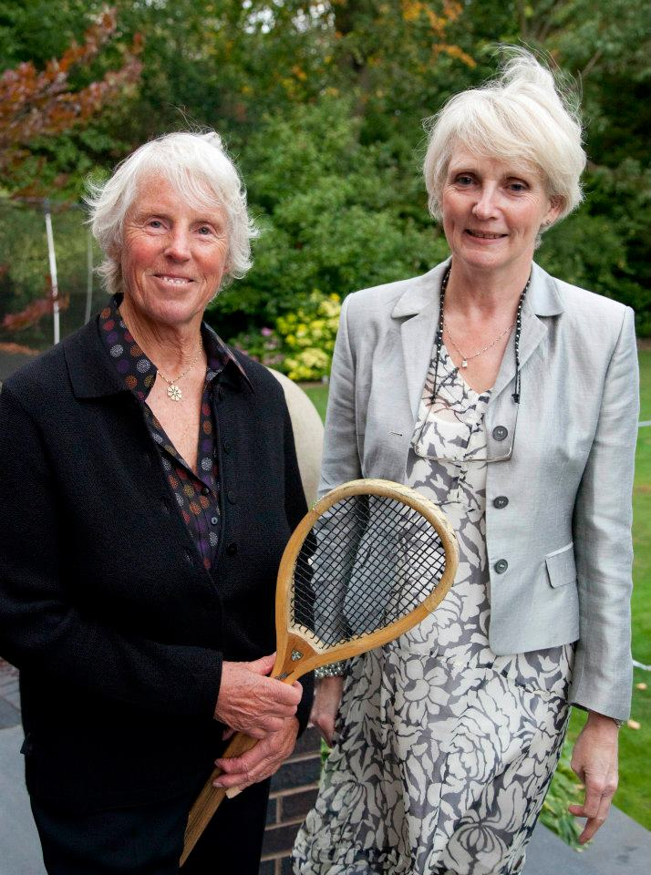 Ann Haydon-Jones and Fiona Walker