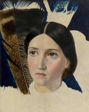 Above Image: John Brett, Christina Rossetti, (detail), 1857. © Private Collection.