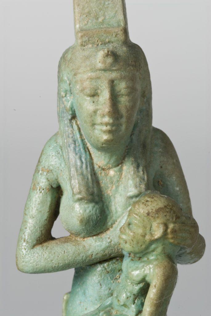 Isis Suckling Horus