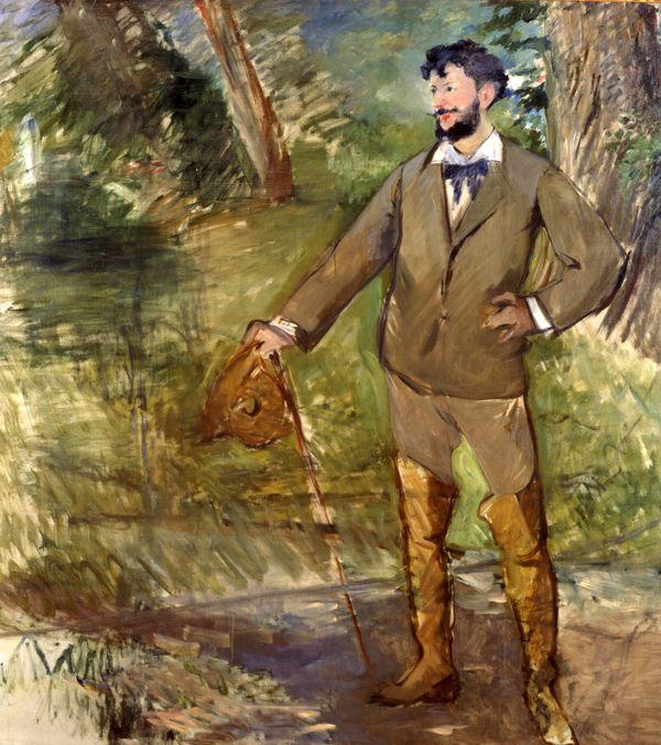 Edouard Manet (1832-83), Portrait of Carolus-Duran, 1876. Oil on canvas, 191.8cm x172.7cm, acq. December 1937
