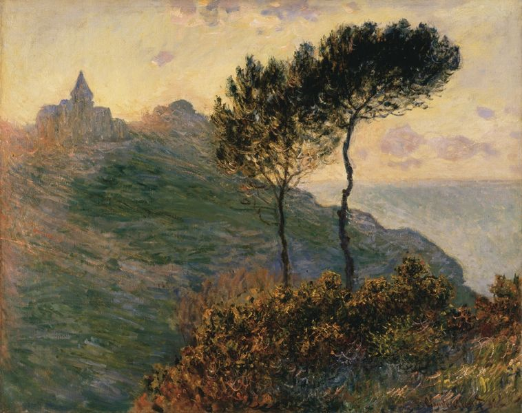 Claude Oscar Monet (1840-1926), The Church at Varengeville, 1882. Oil on canvas, 65 x 81.3cm, acq. July 1938.
