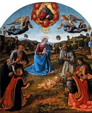 'The Adoration of the Infant Christ' by Rosselli (Episode 13)