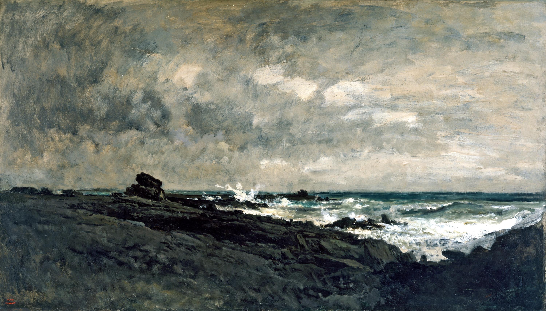 Daubigny: Seascape