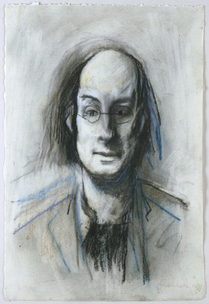 Tom Phillips (1937-),  Richard Edward Morphet, 1972/3. Pastel. © DACS/Tom Phillips