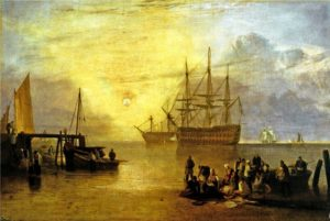 JWM Turner (1775-1851), The Sun Rising Through Vapour, c.1809, Oil on canvas, 69.2 x 101.6cm
