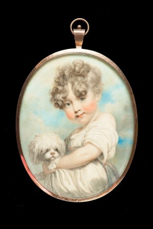 Above Image: William Marshall Craig, Richard Colley (as child, with dog), about 1805. © Private Collection.