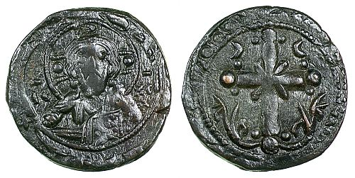 Byzantine (300-1400 Ad) Coins & Paper Money Ancient Byzantine Leo Vi Follis Coin Of 9th Century Ad