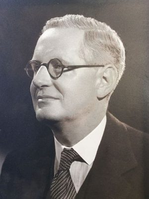Photograph of Geoffrey Haines in 1967.