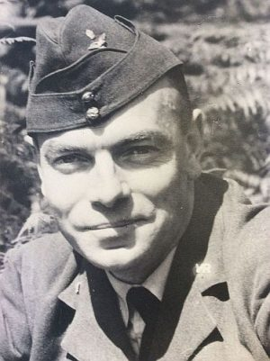Photograph of Philip Whitting during his time in the RAF in World War II.