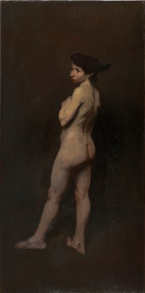 George Bellows, Nude, Miss Bentham, 1906. The Barber Institute of Fine Arts, University of Birmingham