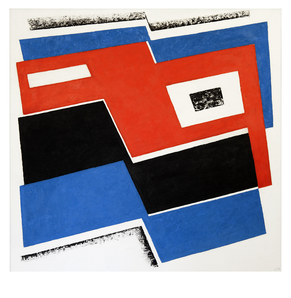 Josef Albers, 'Construction in Red-Black-Blue', 1939, ©The Josef and Anni Albers Foundation/ VG Bild-Kunst, Bonn and DACS, London 2015.
