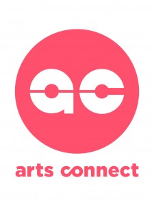 Arts Connect logo_Peach Circle_CMYK