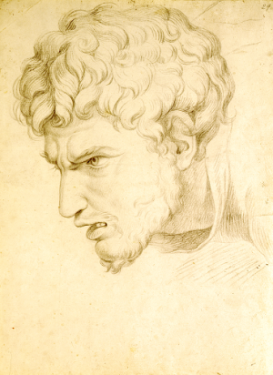 Tischbein, Johann Heinrich (1751-1829), after Romano, Giulio (1499-1546), Study from the 'Massacre of the Innocents', about 1780
