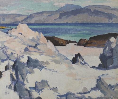 Samuel John Peploe, 'Green Sea, Iona', c.1920 © Fleming-Wyfold Art Foundation