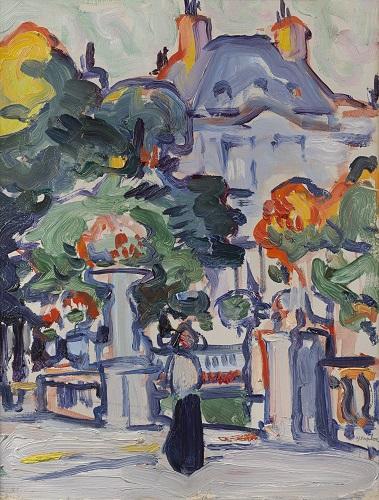 Simon John Peploe, 'Luxembourg Gardens', c.1910 © Fleming-Wyfold Art Foundation