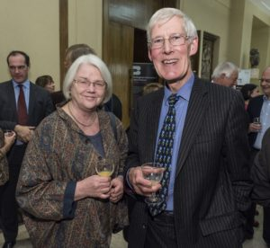 Liz Dancey and Hugh Carslake