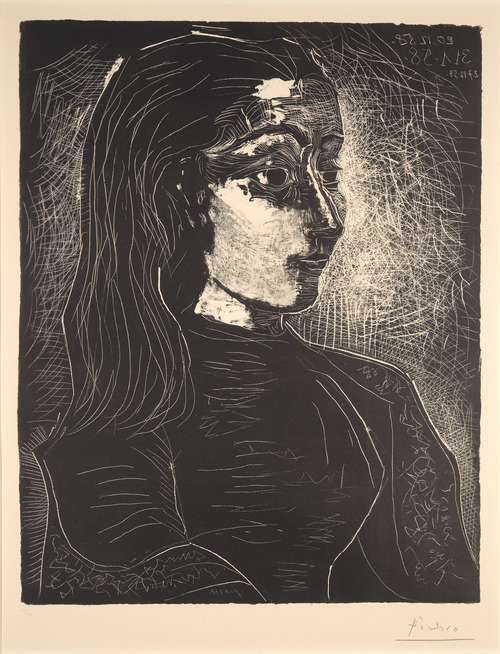'Jacqueline in Profile' by Picasso.