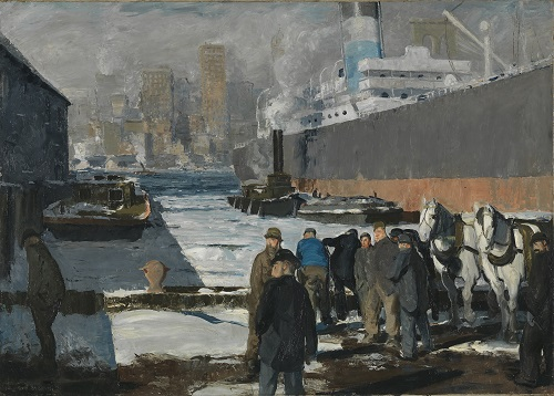George Bellows, 'Men of the Docks', 1912© The National Gallery, London