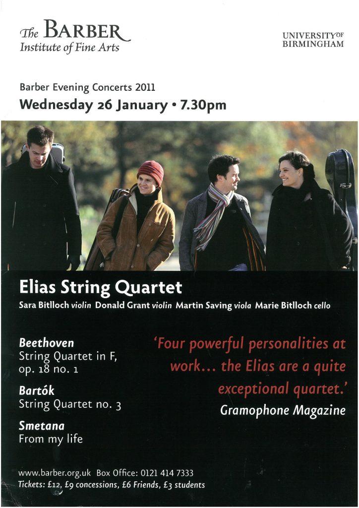 10. Elias String Quartet