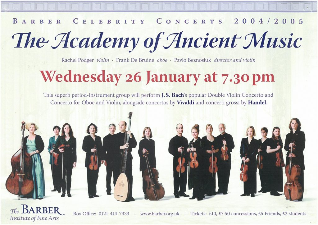4. The Academy of Ancient Music