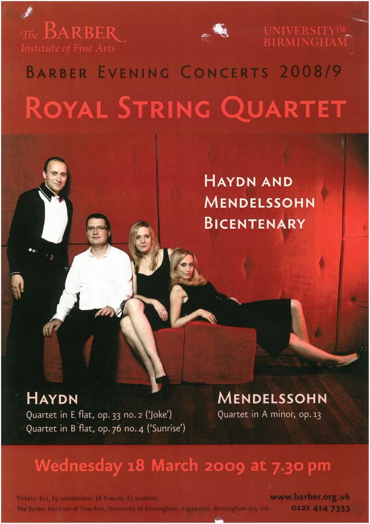 8. Royal String Quartet