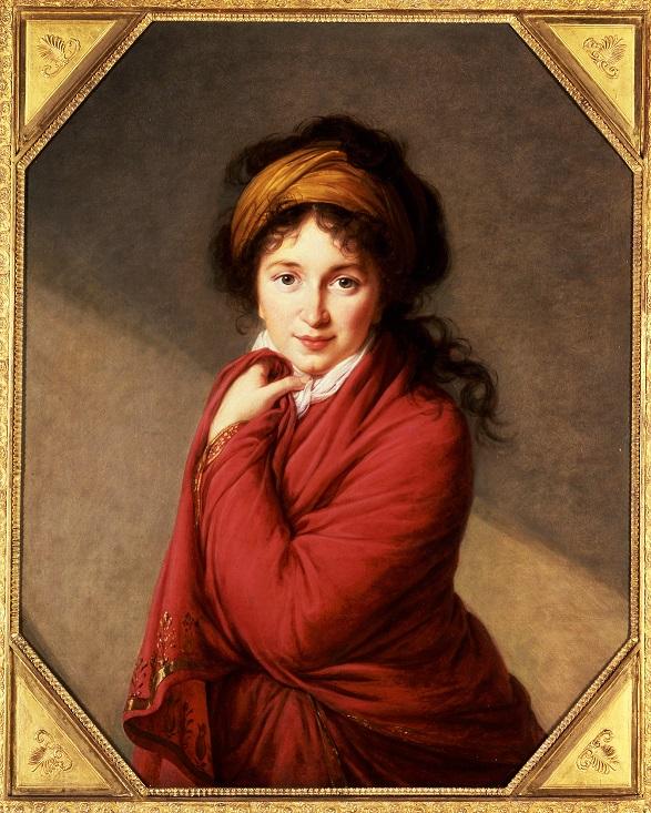 'Portrait of Countess Golovina' by Élisabeth Vigée-Lebrun.