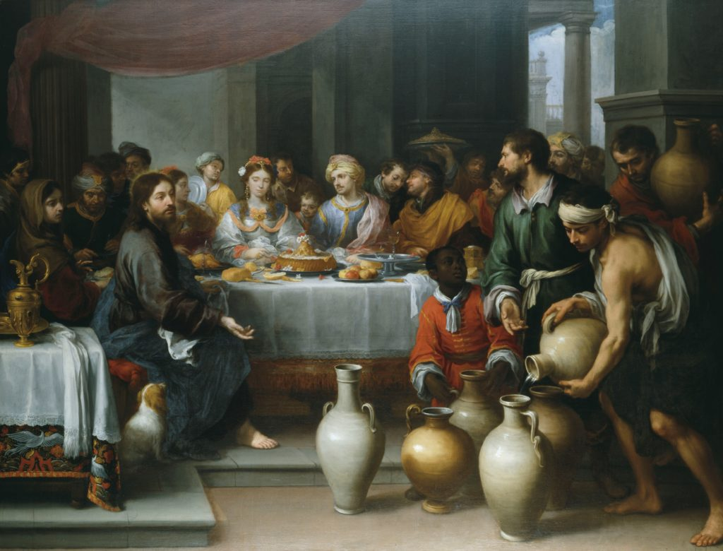 'The Marriage Feast at Cana' by Bartolomé Esteban Murillo