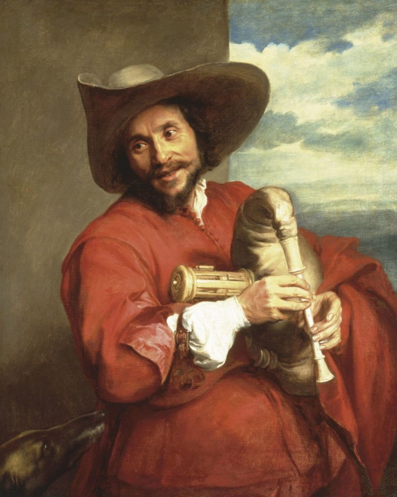 'Portrait of François Langlois (1589 – 1647)' by Anthony van Dyck